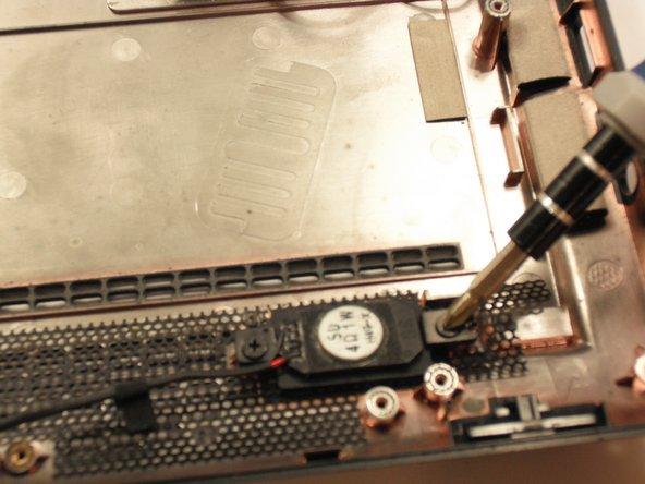 Remove the 4 3.9mm screws.