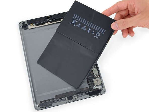 iPad Air LTE Battery Replacement
