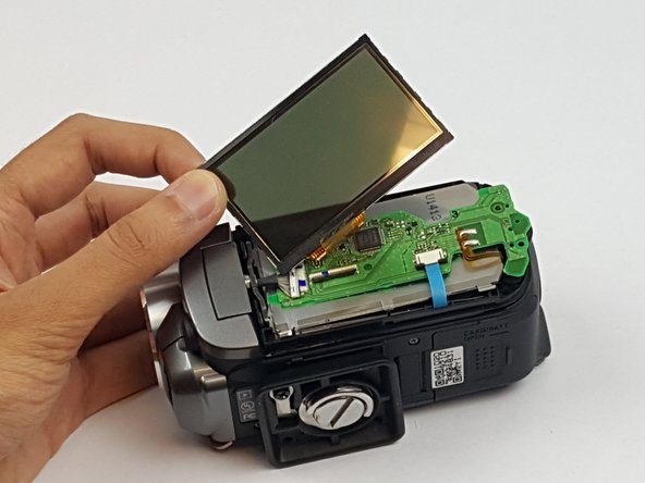 Canon FS30 LCD Screen Replacement