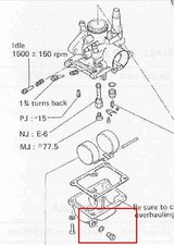 SOLVED: Nipple on the bottom of the carburetor? - Suzuki