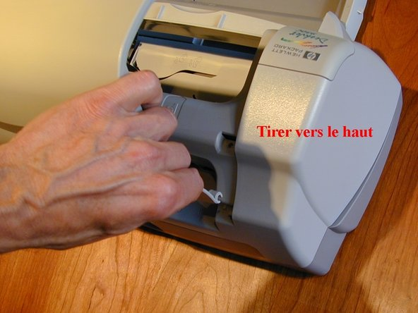 Remove the printer's lid.