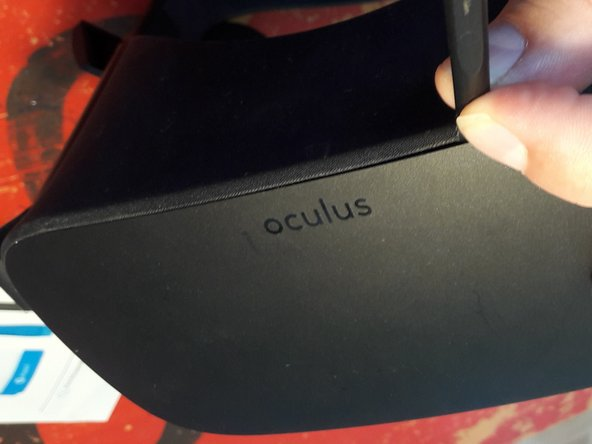 Oculus Rift CV1 - open it