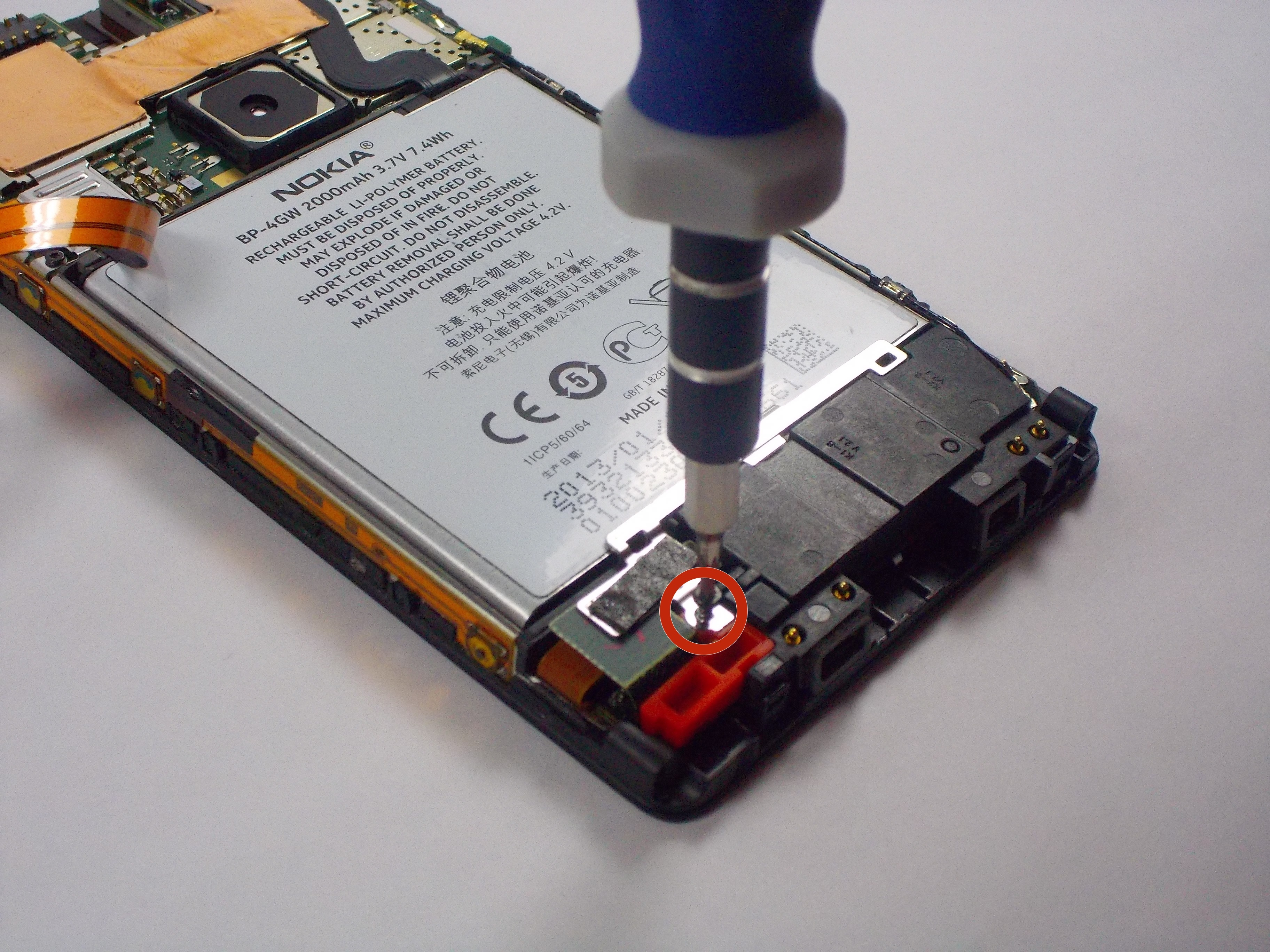 nokia lumia 920 battery replacement ifixit repair guide. Black Bedroom Furniture Sets. Home Design Ideas