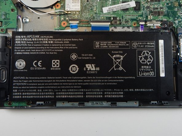 Acer Chromebook C740 Battery Replacement