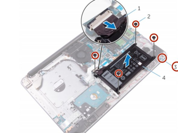 Dell Inspiron 17 5765 Battery Replacement