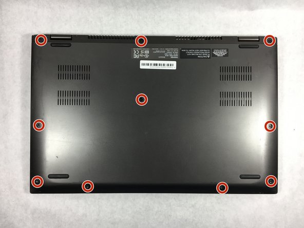 Toshiba Satellite P55W-C5316 Back Panel Replacement