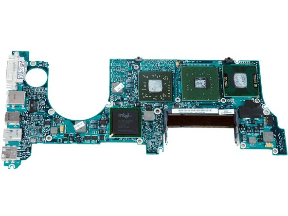 Top of the logic board. Click on the image for a larger image, or here for even more resolution.