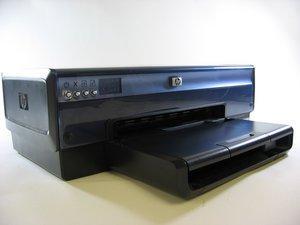 Repairing HP Deskjet 6840 Rubber Paper Feed Rollers