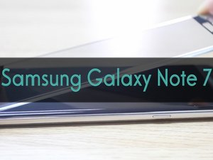 How to install tempered glass screen protector for Samsung Galaxy Note7