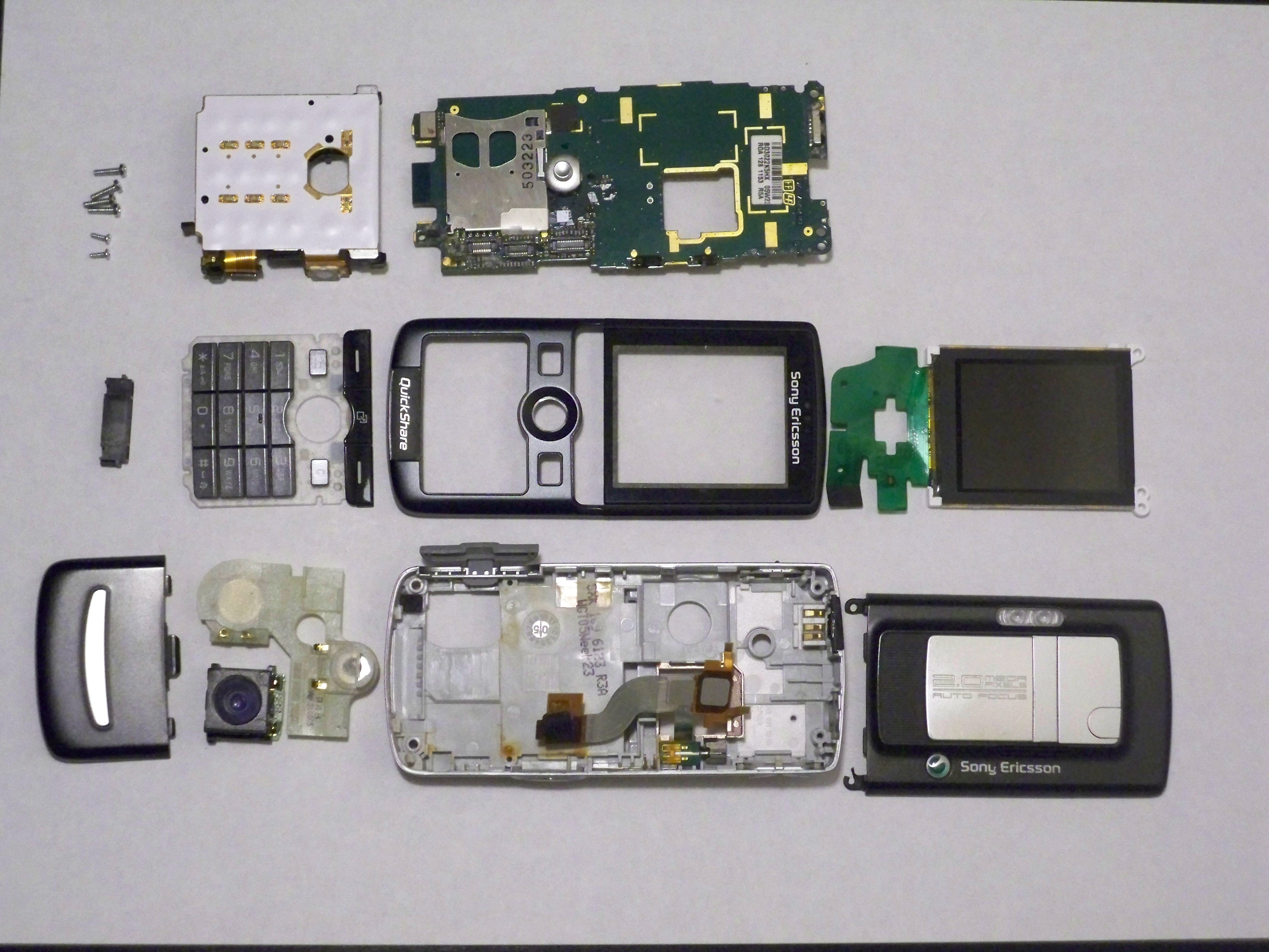 sony ericsson k750i teardown ifixit. Black Bedroom Furniture Sets. Home Design Ideas