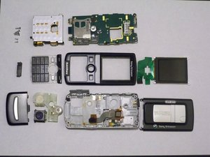 Sony Ericsson K750i Teardown