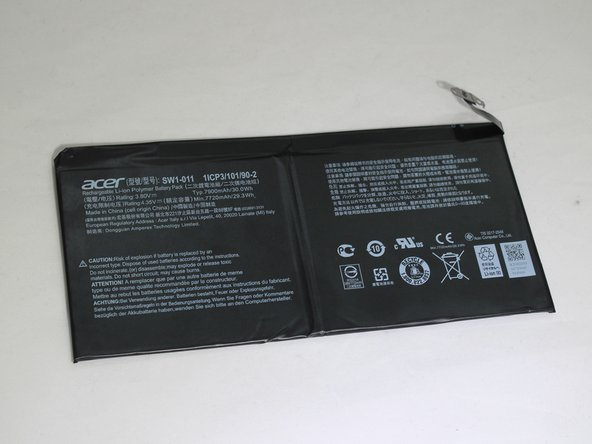 Acer One 10 S1003-114M Battery Replacement