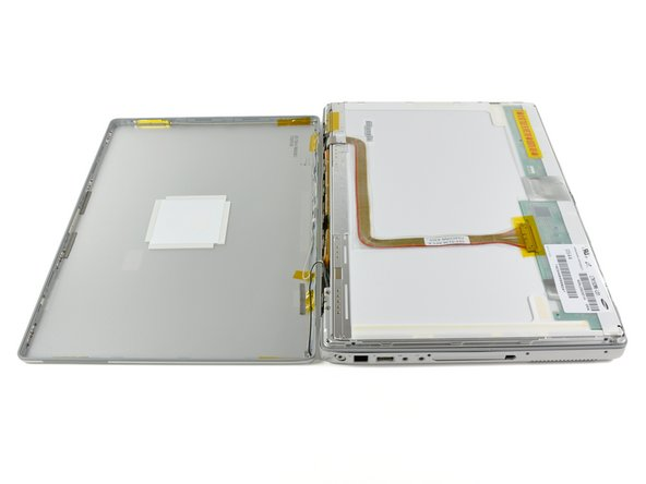 "PowerBook G4 Aluminum 15"" 1.67 GHz Rear Display Bezel Replacement"
