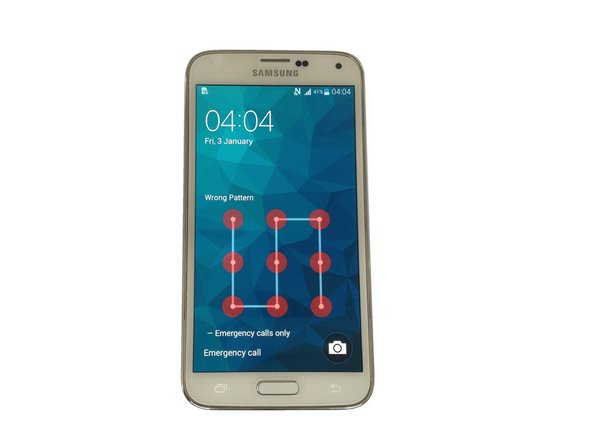 Samsung Galaxy S5 - Password, Screen Lock Removal