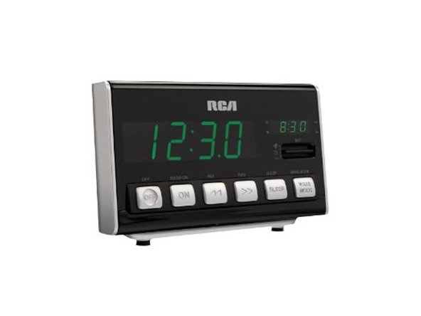 rca radio alarm clock repair ifixit. Black Bedroom Furniture Sets. Home Design Ideas