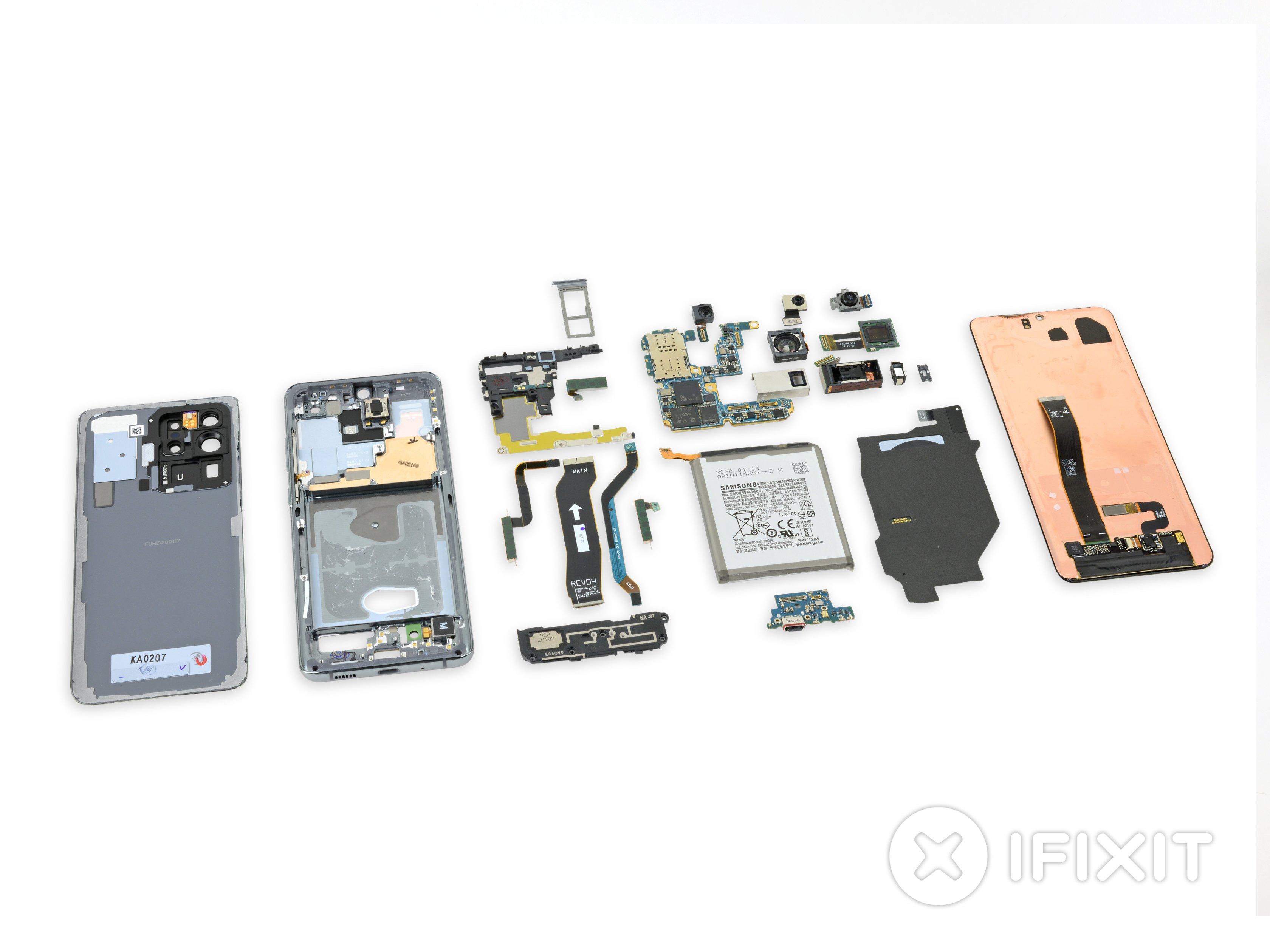 Samsung Galaxy S20 Ultra Teardown Ifixit