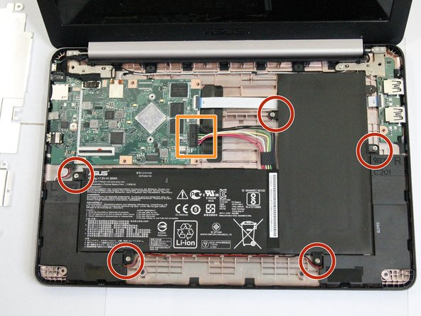 Asus Chromebook C201PA-DS02-LG Battery Replacement