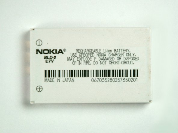 Nokia 6560 Battery Replacement