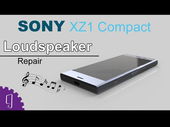 Sony Xperia XZ1 Compact Buzzer Replacement