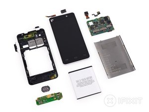 Fairphone 1 Teardown