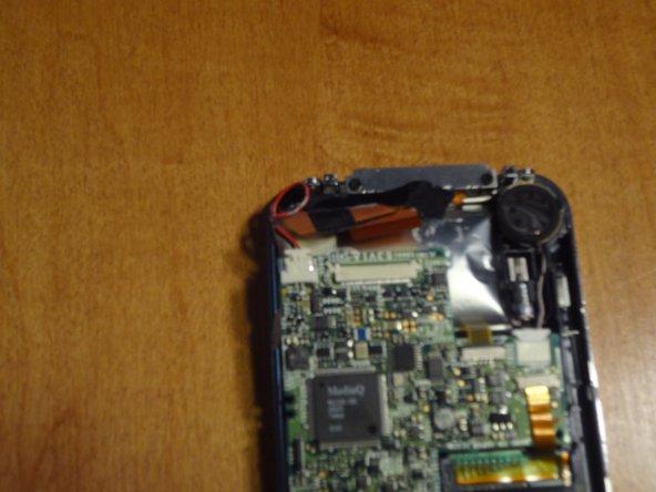 Plug battery back into board.