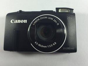 Canon PowerShot SX280 HS Repair