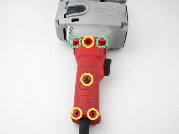 Remove the four 19mm Torx T15 screws.