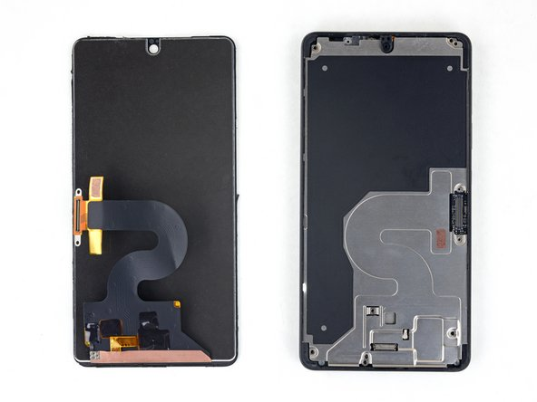 In the following steps, you will separate the display panel and cover glass assembly from the Essential Phone's chassis.