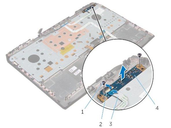 Alienware 17 R2 Reemplazo de tablero de luces de estado