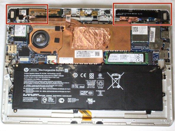 HP Elite x2 1012 G2 Speakers Replacement