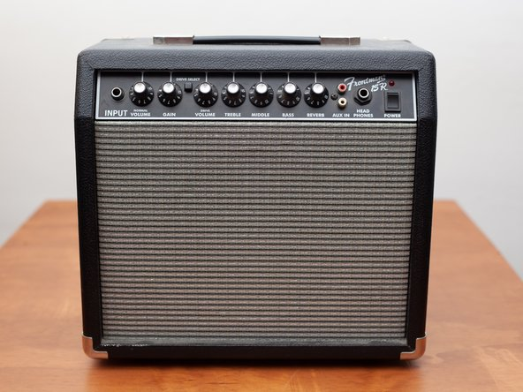 Fender Frontman 15r Reverb Tank Replacement