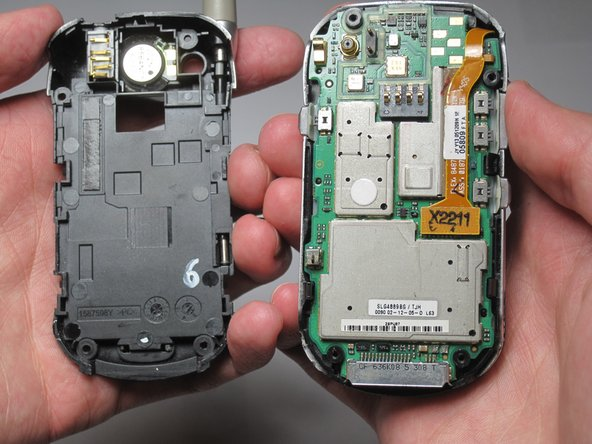 Be careful when removing the back plate; don't put too much stress on the back plate or the plastic may snap