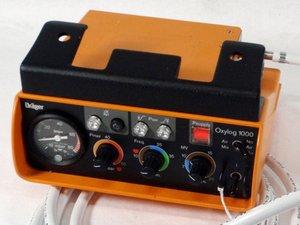 Dräger Oxylog 1000 Repair