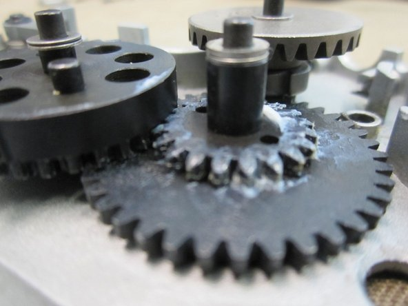Image 1/1: Spur gear- Top:(0.3mm)x3+(0.1mm)=1mm Bottom: (0.3mm)+(.2mm)=0.5mm