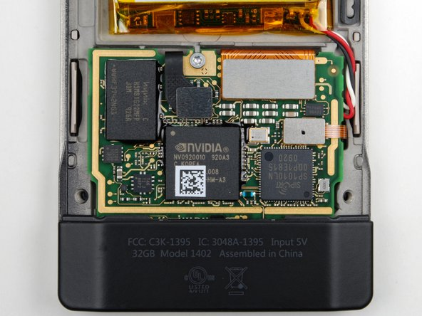 Image 1/1: NVIDIA Tegra processor front and center. In a stark contrast to Apple's relationship with Samsung, [link|http://www.nvidia.com/object/product_tegra_600_us.html|NVIDIA's product page] actually has a link to buy the Zune HD.