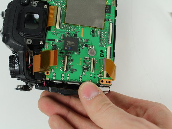 Gently pull the port side cover away from the motherboard.