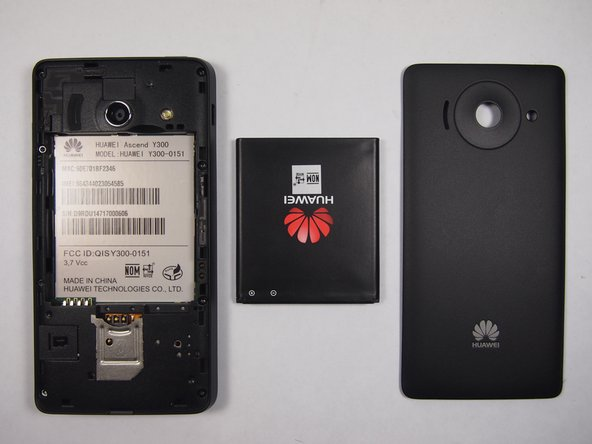 Huawei Y300 Battery Replacement