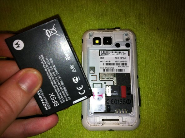 Remove the battery and sim card as well as the micro sd if one.