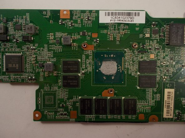 Wipe the residual paste off of the processor on the motherboard with a clean cloth.