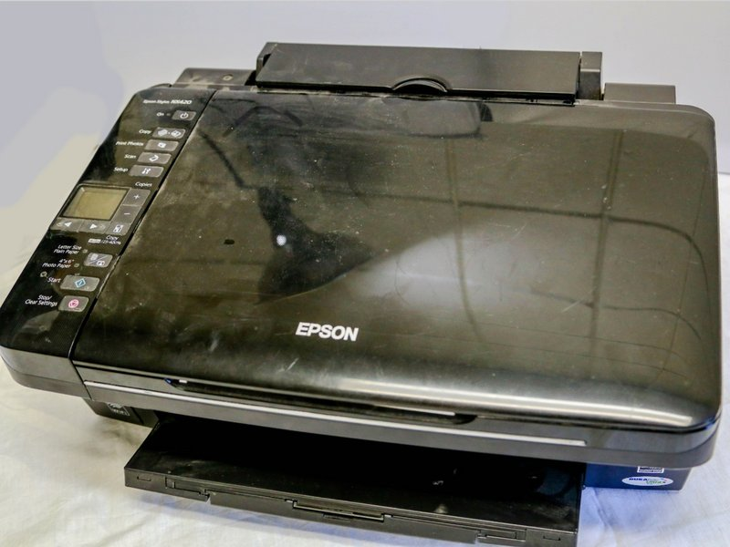 Why can't my printer connect to my wireless network? - Epson Stylus