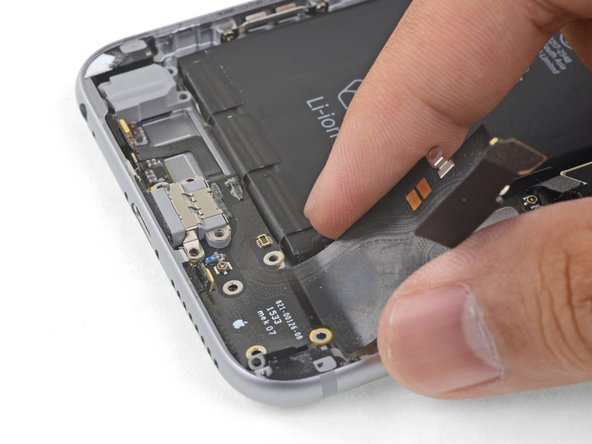Remove the Lightning connector assembly.