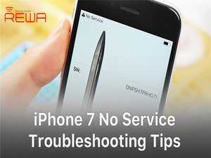 How to Fix iPhone 7 No Service