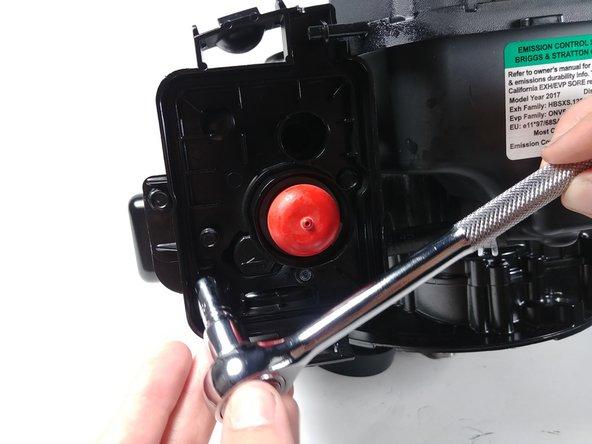 """Remove the 1/4"""" bolts."""