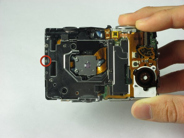 Canon PowerShot SD850 IS Flash Unit Replacement