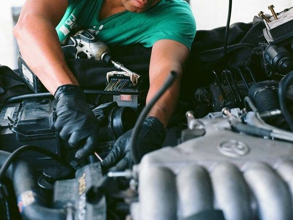Check your Chevy's battery, the cables, and terminals for any breaks or false connections.