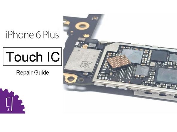 iPhone 6 Plus Touch IC Reparatur