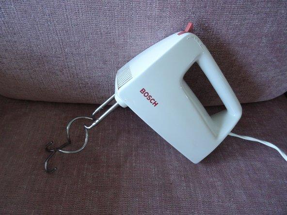 Bosch MFQ1308 Stirnrad tauschen