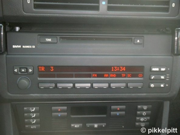 BMW's Bluetooth system also works properly with cars equipped with Radio/Cassette Players and Radio/CD players.