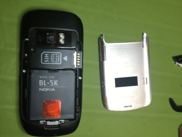 Remove battery and battery cover