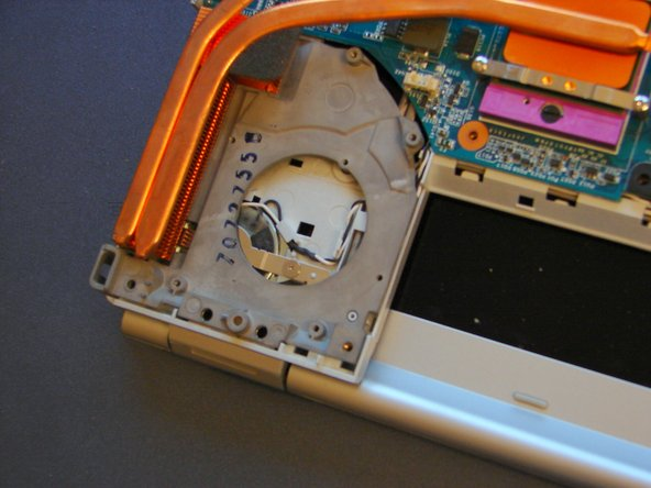 Finally we can see the inside of our VAIO.